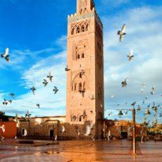 Koutoubia mosque, Marrakech, Morocco